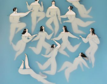 Delicate 'underwater' paper cut  illustrations by Sonia Alins Miguel