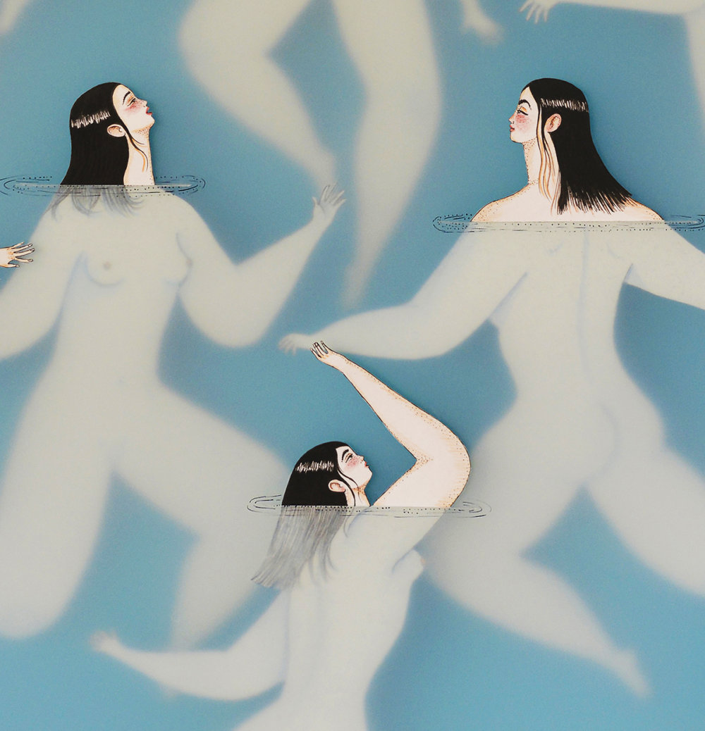 Delicate Underwater Paper Cut Illustrations By Sonia Alins 3