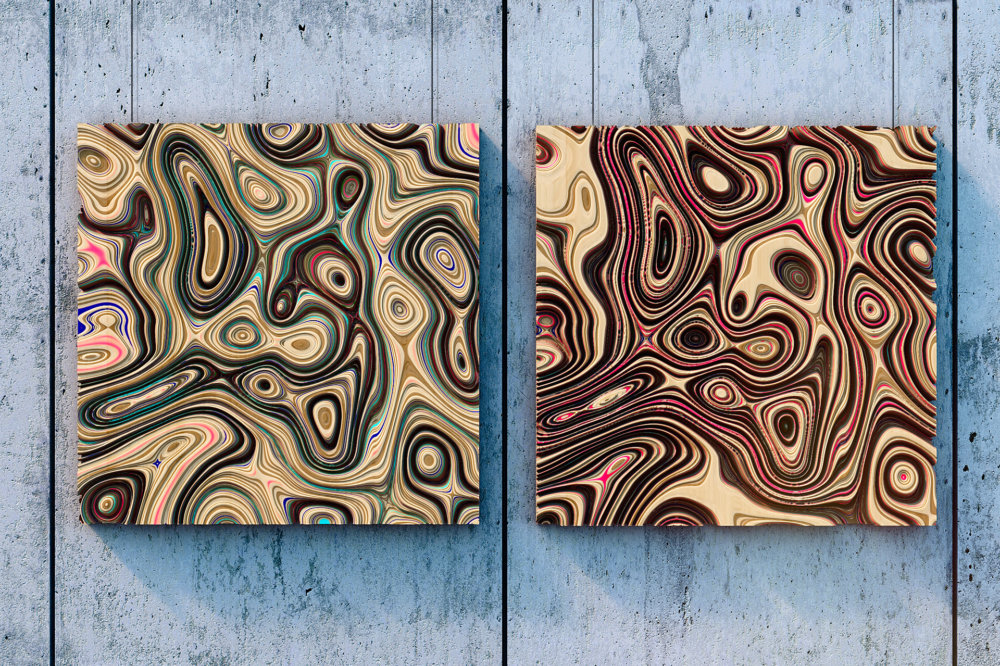 Jupiter Panels The Colorful 3d Wall Panels Inspired By The Gas Giants Clouds Of Oleg Soroko 3