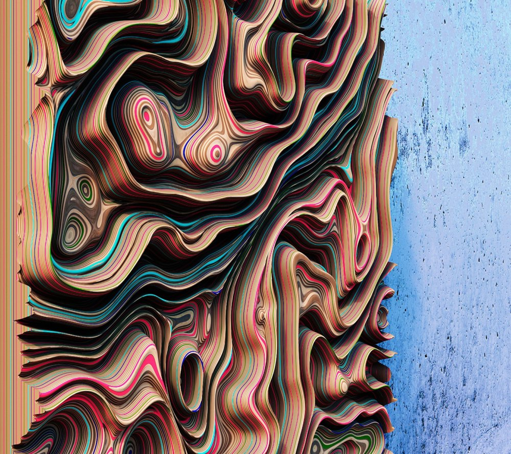 Jupiter Panels The Colorful 3d Wall Panels Inspired By The Gas Giants Clouds Of Oleg Soroko 5