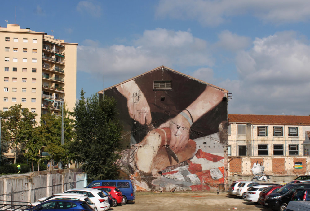 Large Scale Murals Of Family Photographs By Mohamed Lghacham 9