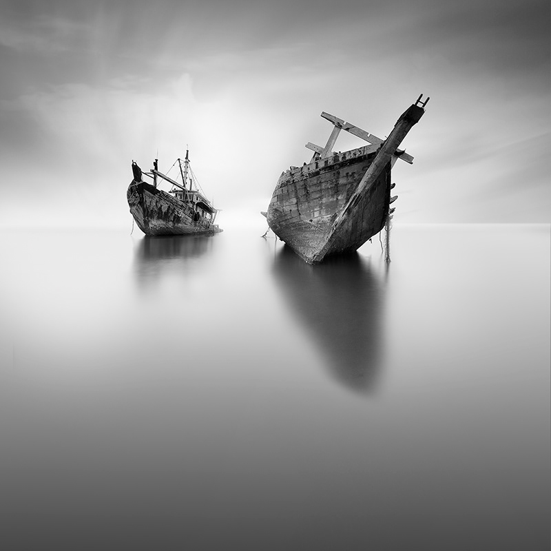 Last Trip Abandoned Old Boat Photograph Series By Vassilis Tangoulis 2