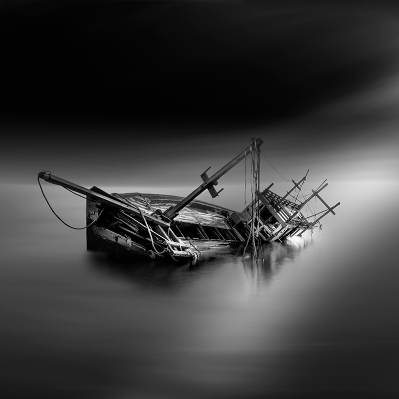 Last Trip Abandoned Old Boat Photograph Series By Vassilis Tangoulis 3