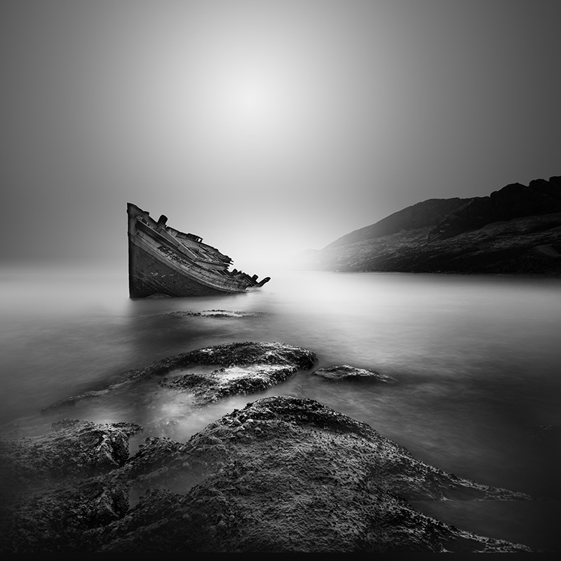 Last Trip Abandoned Old Boat Photograph Series By Vassilis Tangoulis 4