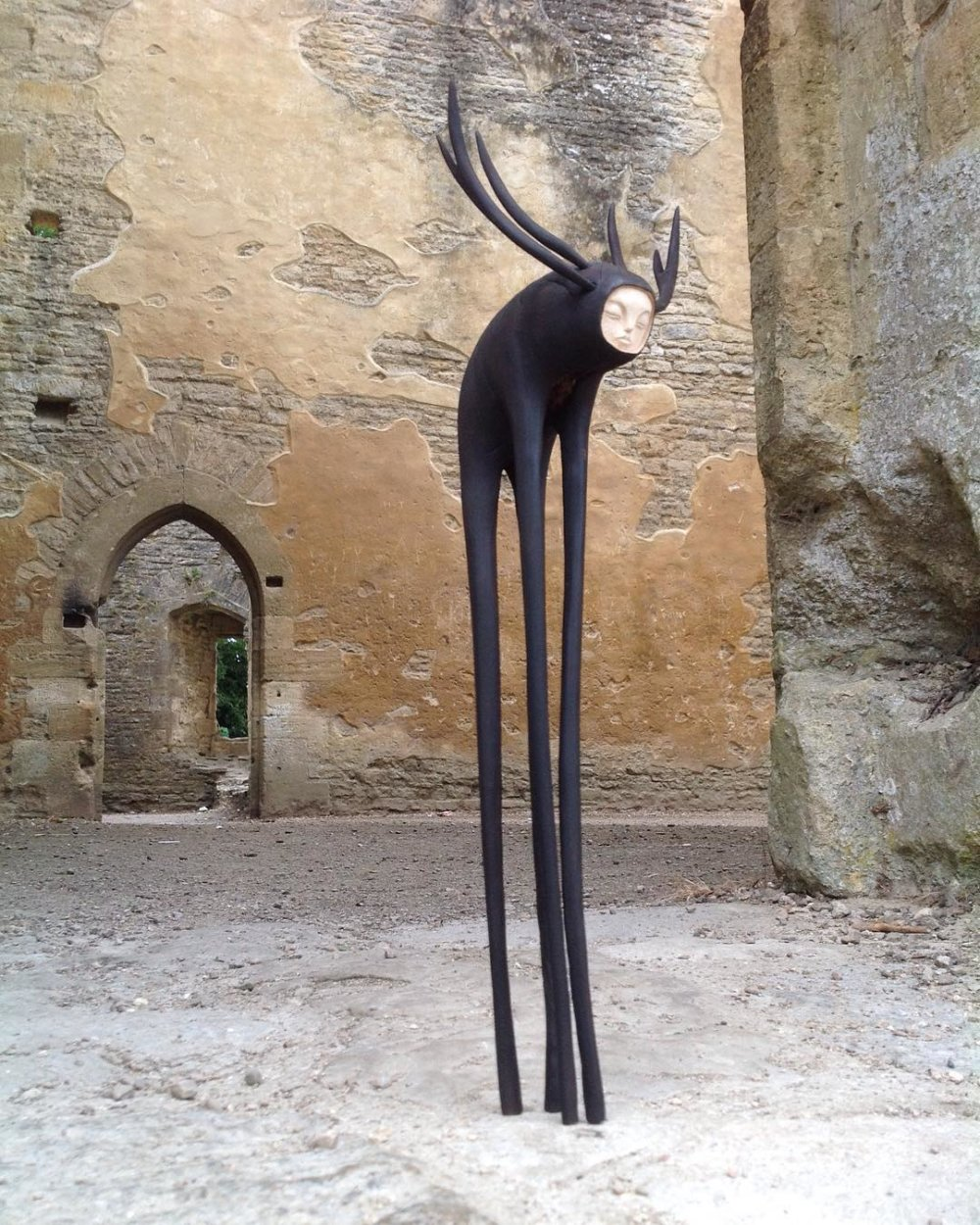 Magic Creatures With Long Limbs Made Out Of Oak Tree Roots By Tach Pollard 7