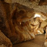 """""""Manifestation"""": cave installations made of millions of hand-rolled paper cones by Samuelle Green"""