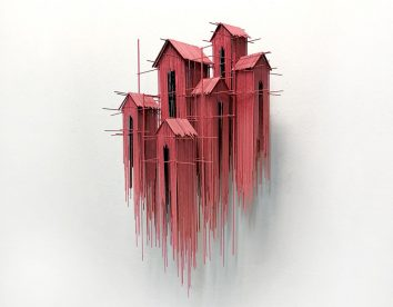 Metal sketches: the architectural steel wire sculptures of David Moreno