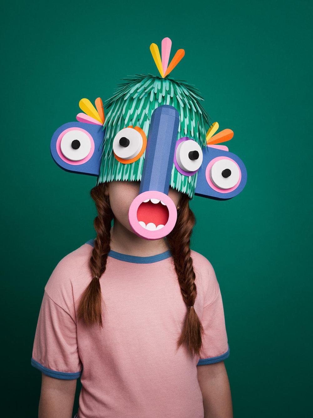 New Species Amusing Paper Masks By Lobulo Studio 1