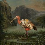 'Oil on feathers': beautifully oil painted birds infused with detailed classic paintings by Carolynda MacDonald