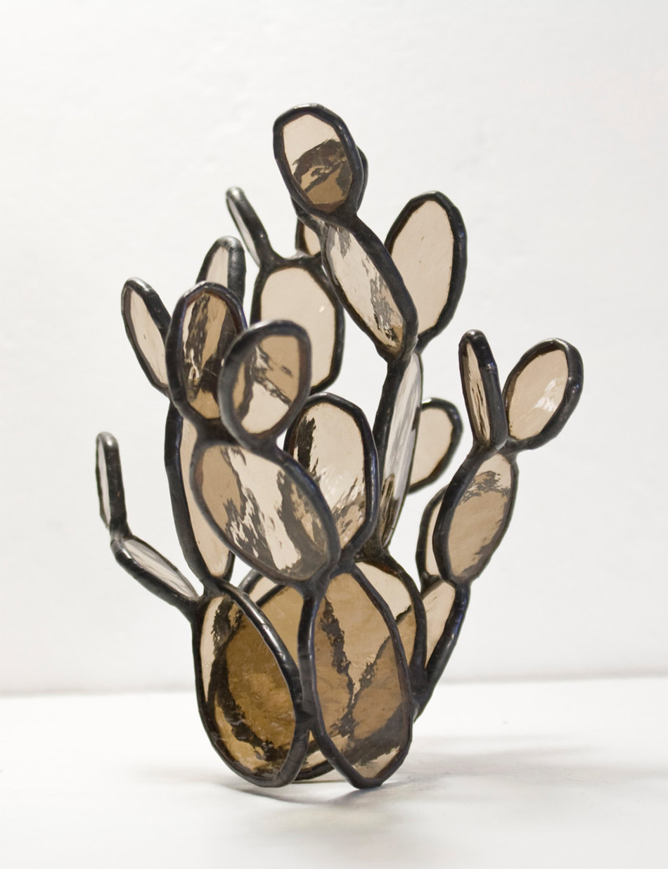 Succulent Based Glass Sculptures By Lesley Green 8
