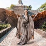 Amazingly articulated cosplay wings by Drisana Litke