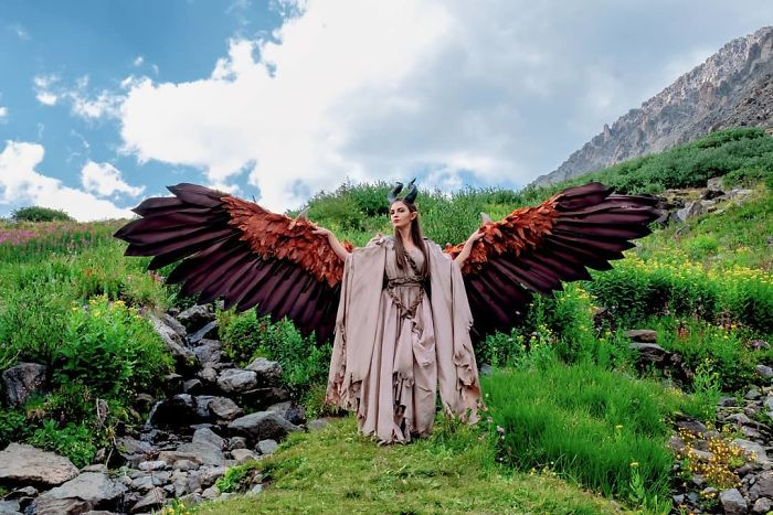 Amazingly Articulated Cosplay Wings By Drisana Litke 3