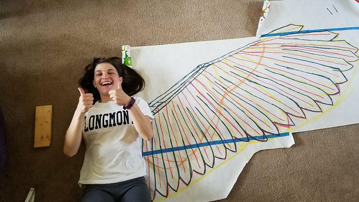 Amazingly Articulated Cosplay Wings By Drisana Litke 5