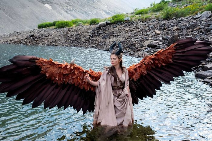 Amazingly Articulated Cosplay Wings By Drisana Litke 6