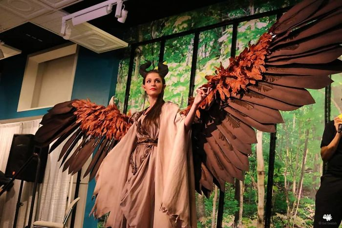 Amazingly Articulated Cosplay Wings By Drisana Litke 7