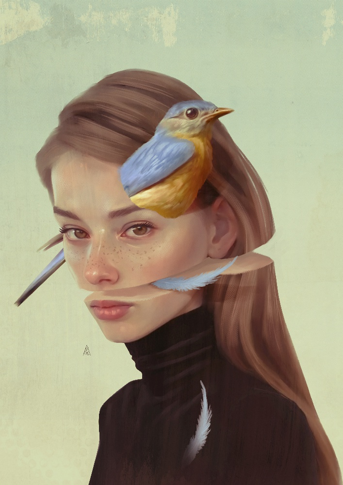 Awesome Surreal Illustrations And Digital Paintings By Aykut Aydogdu 8