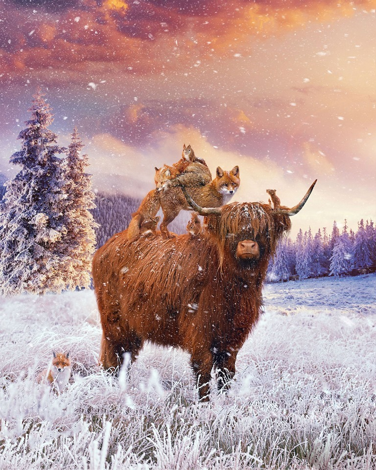 Dreamlike Animal Portraits Enchanting Photo Manipulations By Andreas Haggkvist 10