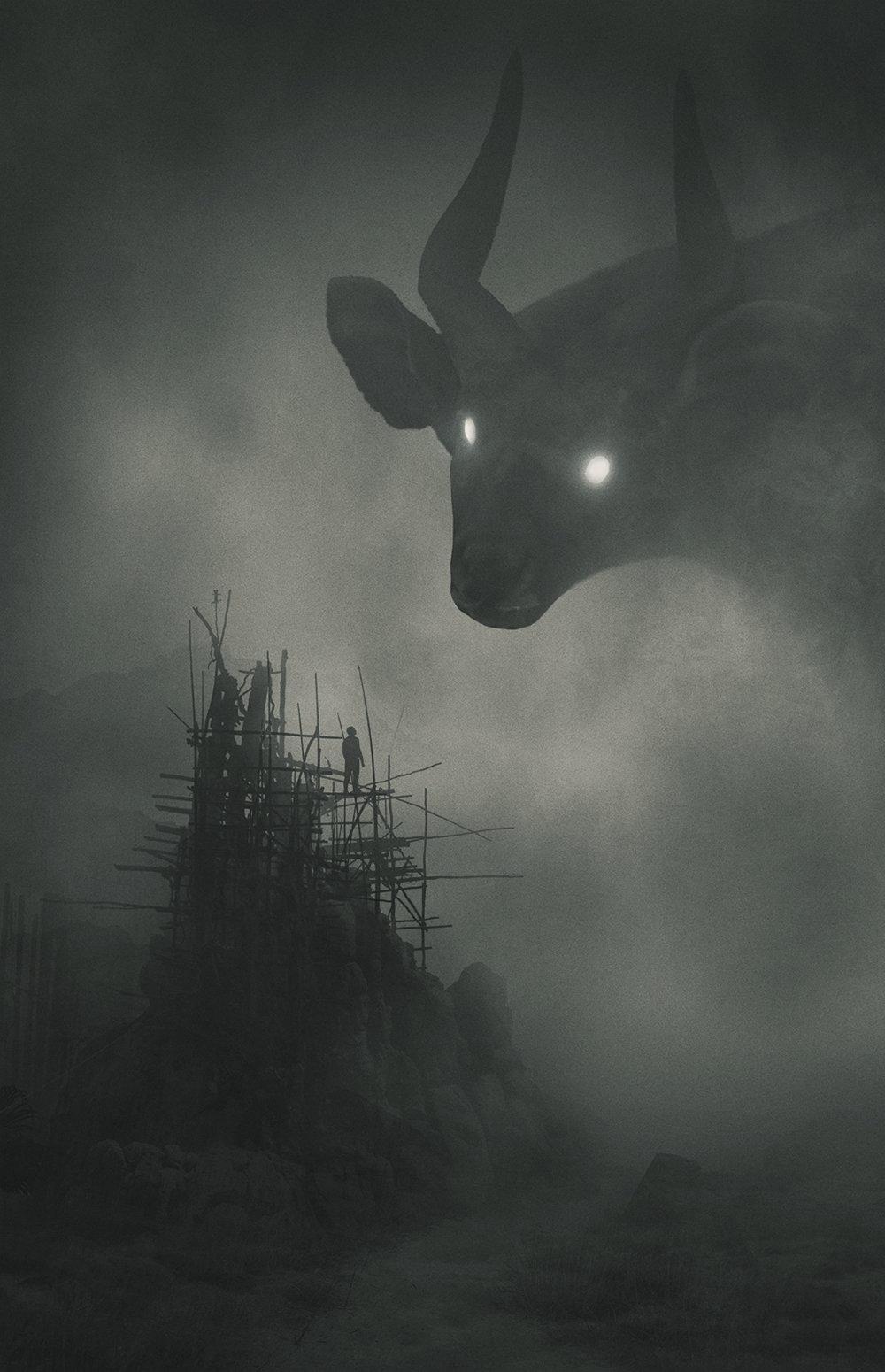 Fabulous Illustrations Of Mystic Beings In Gloomy Scenarios By Dawid Planeta 1