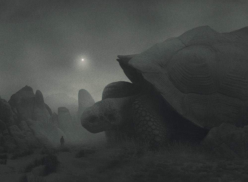 Fabulous Illustrations Of Mystic Beings In Gloomy Scenarios By Dawid Planeta 10