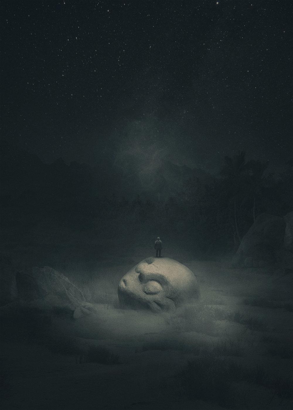 Fabulous Illustrations Of Mystic Beings In Gloomy Scenarios By Dawid Planeta 3