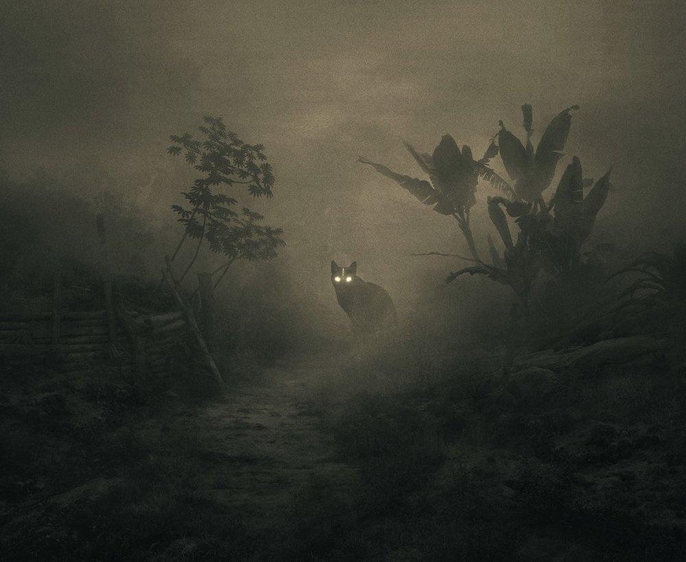 Fabulous Illustrations Of Mystic Beings In Gloomy Scenarios By Dawid Planeta 4
