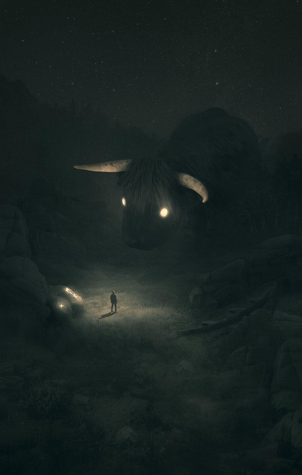 Fabulous Illustrations Of Mystic Beings In Gloomy Scenarios By Dawid Planeta 5