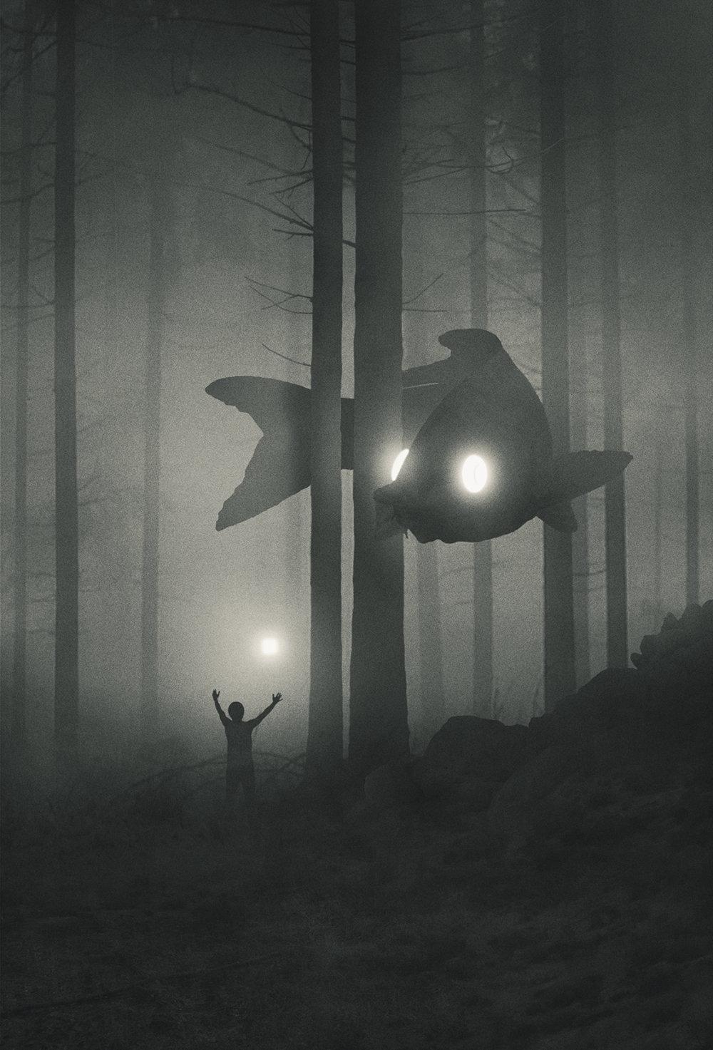 Fabulous Illustrations Of Mystic Beings In Gloomy Scenarios By Dawid Planeta 6