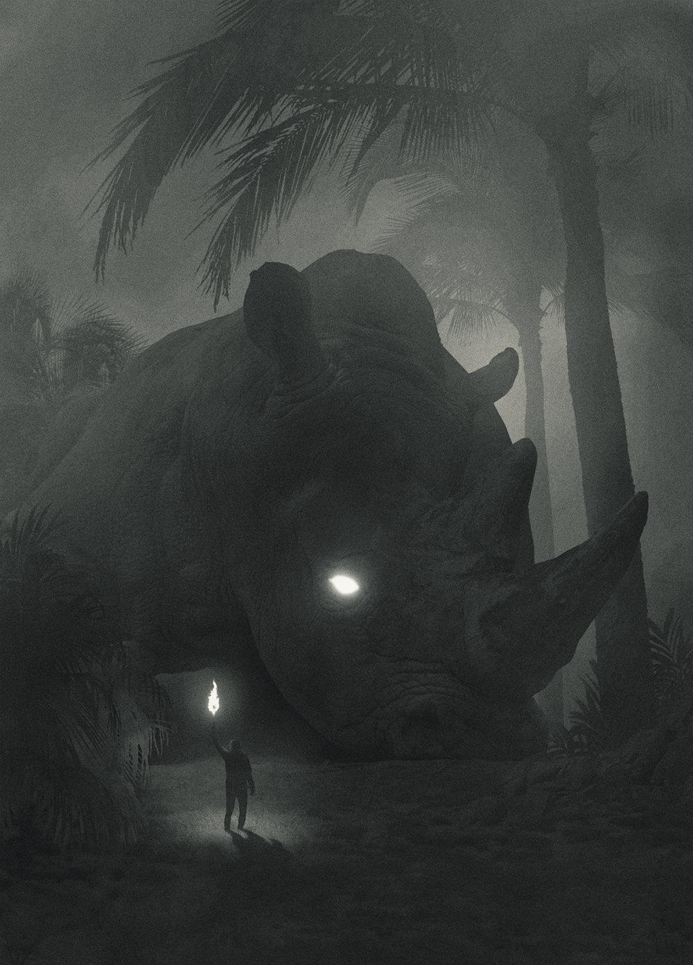 Fabulous Illustrations Of Mystic Beings In Gloomy Scenarios By Dawid Planeta 7