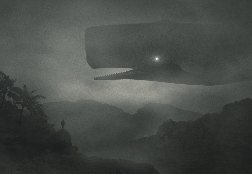 Fabulous Illustrations Of Mystic Beings In Gloomy Scenarios By Dawid Planeta 8