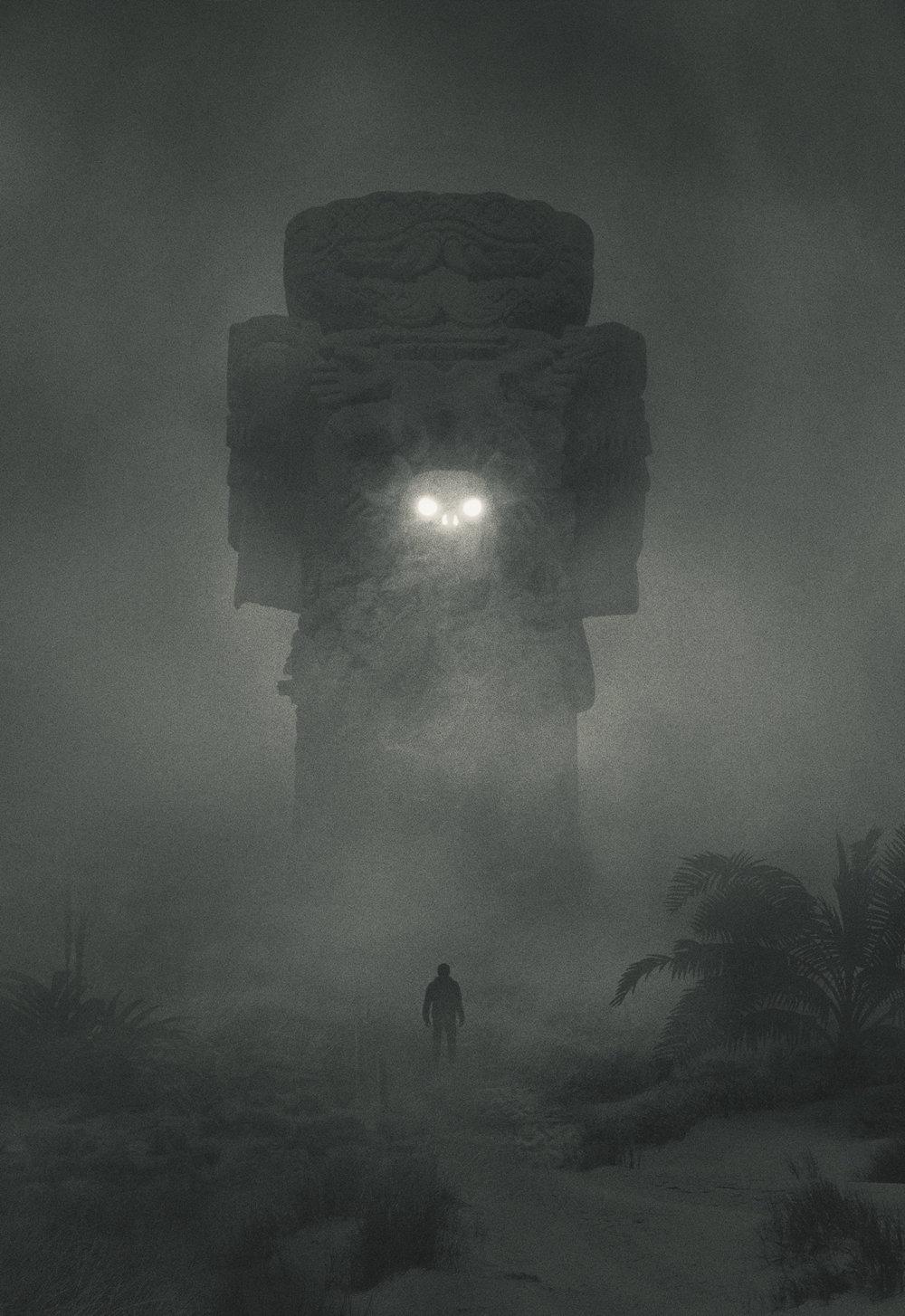 Fabulous Illustrations Of Mystic Beings In Gloomy Scenarios By Dawid Planeta 9