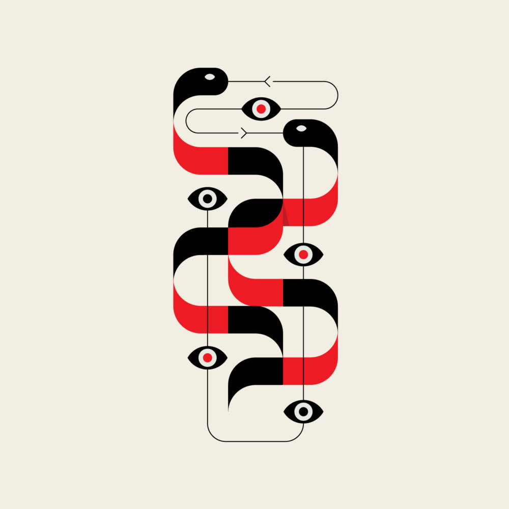 Fauna A Modernist And Minimalist Illustration Series By Adam Goldberg 10