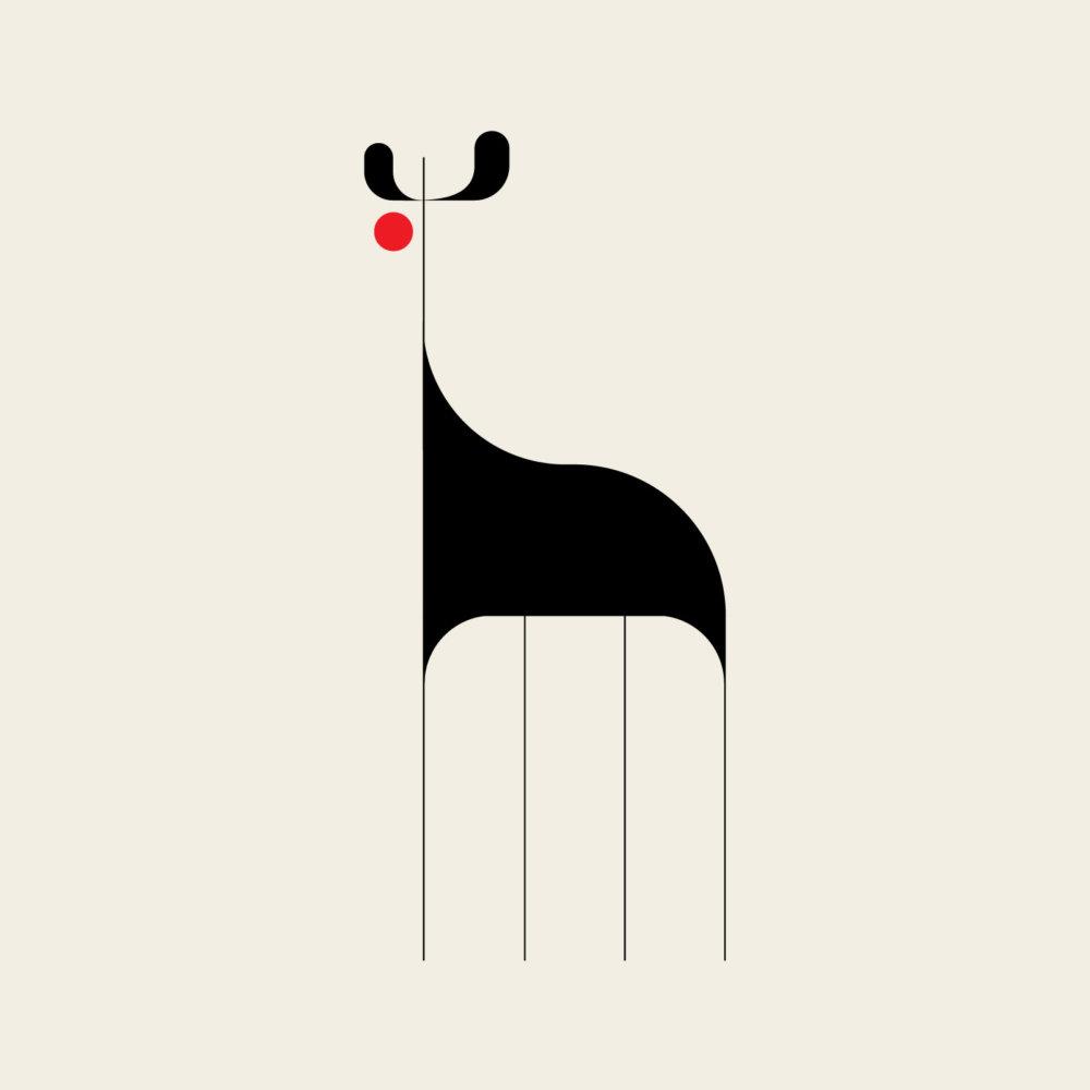 Fauna A Modernist And Minimalist Illustration Series By Adam Goldberg 5