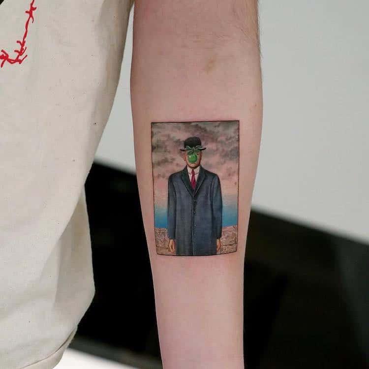Great Painters Masterpieces Turned Into Amazing Tattoos By Eva Karabudak 10