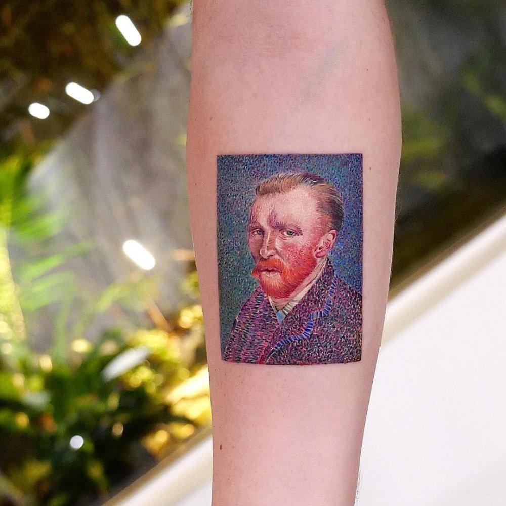 Great Painters Masterpieces Turned Into Amazing Tattoos By Eva Karabudak 6