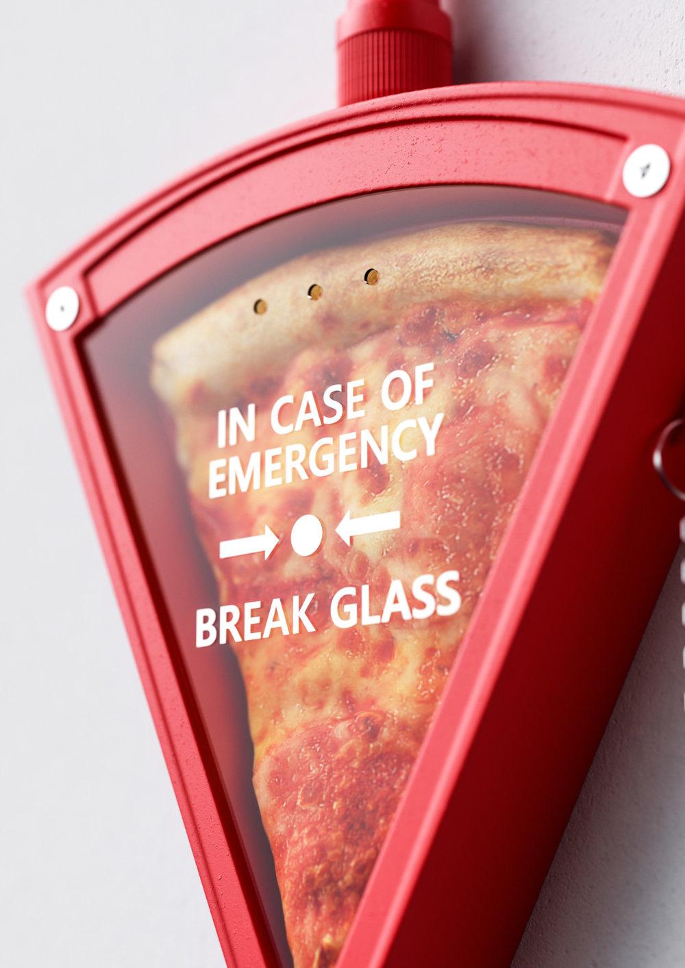 In Case Of Emergency 3d Digital Illustration Series By Ben Fearnley 2