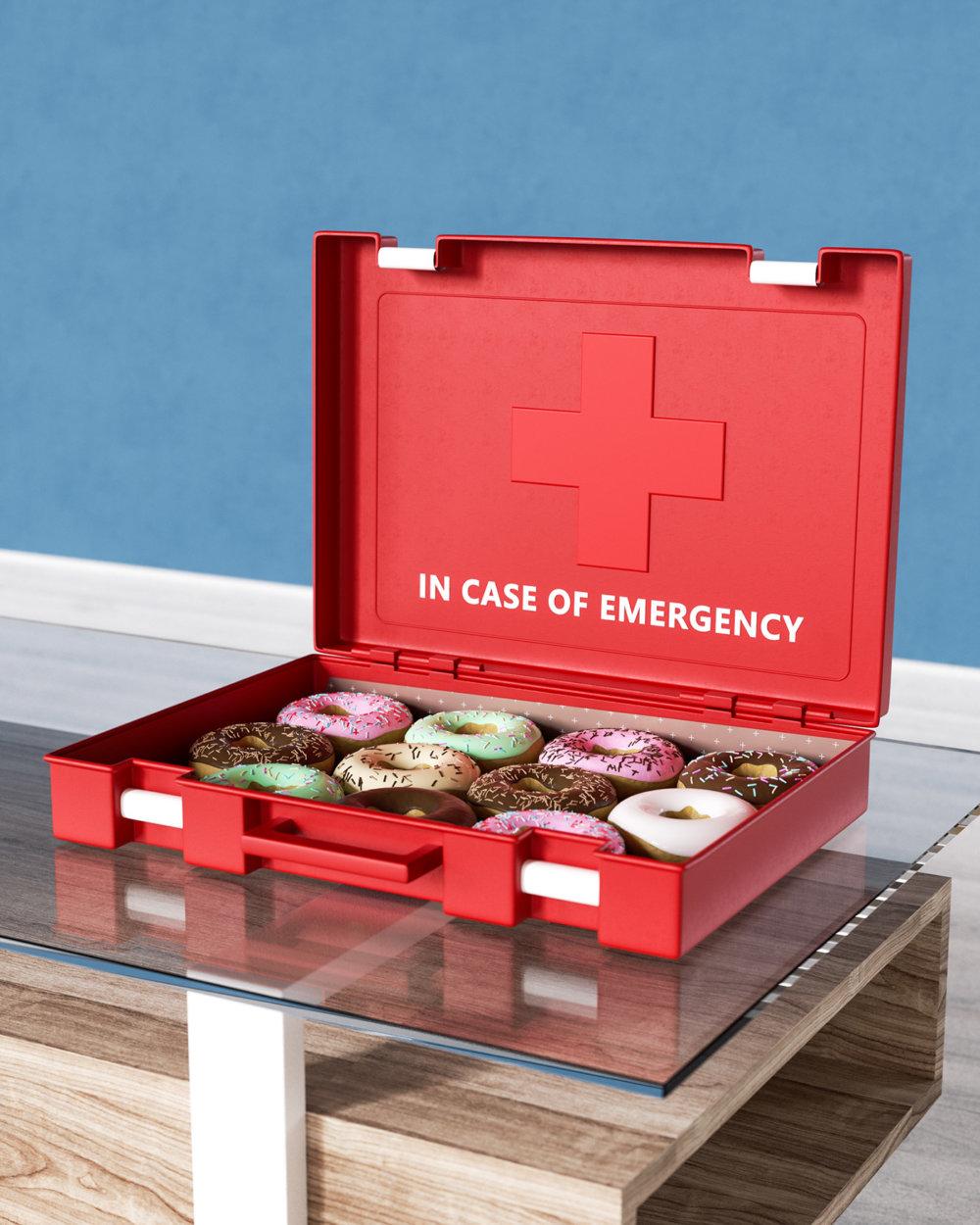 In Case Of Emergency 3d Digital Illustration Series By Ben Fearnley 9