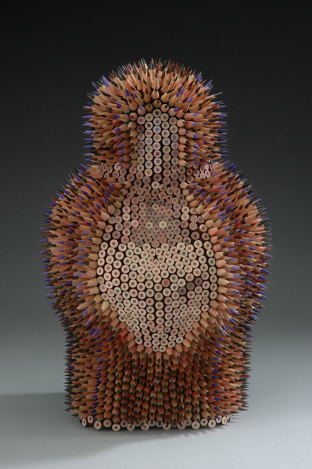 Kinesthetic Sculptures Made Out Of Colored Pencils By Jennifer Maestre 10