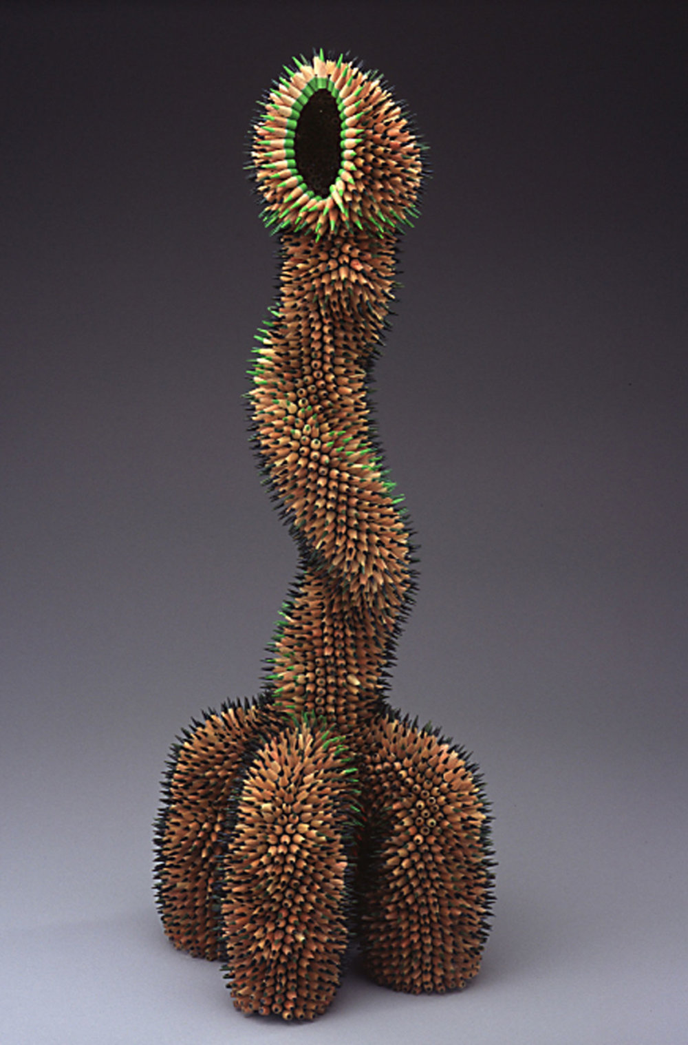 Kinesthetic Sculptures Made Out Of Colored Pencils By Jennifer Maestre 6