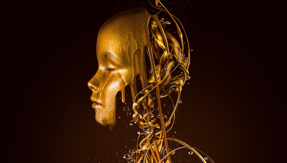 Liquid Gold The Golden Surrealism Of Paul Hollingworth 1
