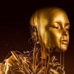 """Liquid Gold"": the golden fluid surrealism of Paul Hollingworth"