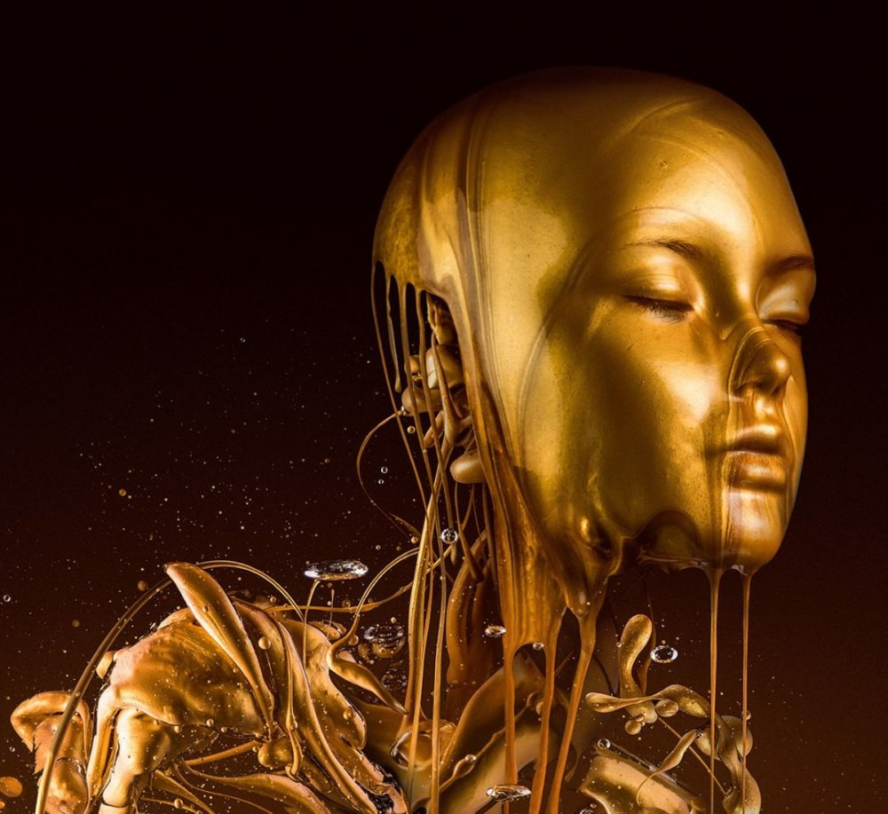 Liquid Gold The Golden Surrealism Of Paul Hollingworth 8