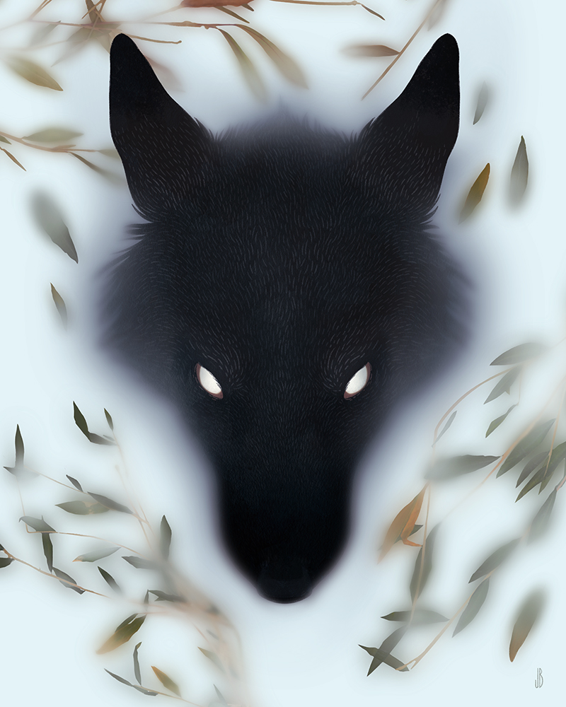 Mysterious And Shadowy Animal Illustrations By Jenna Barton 10