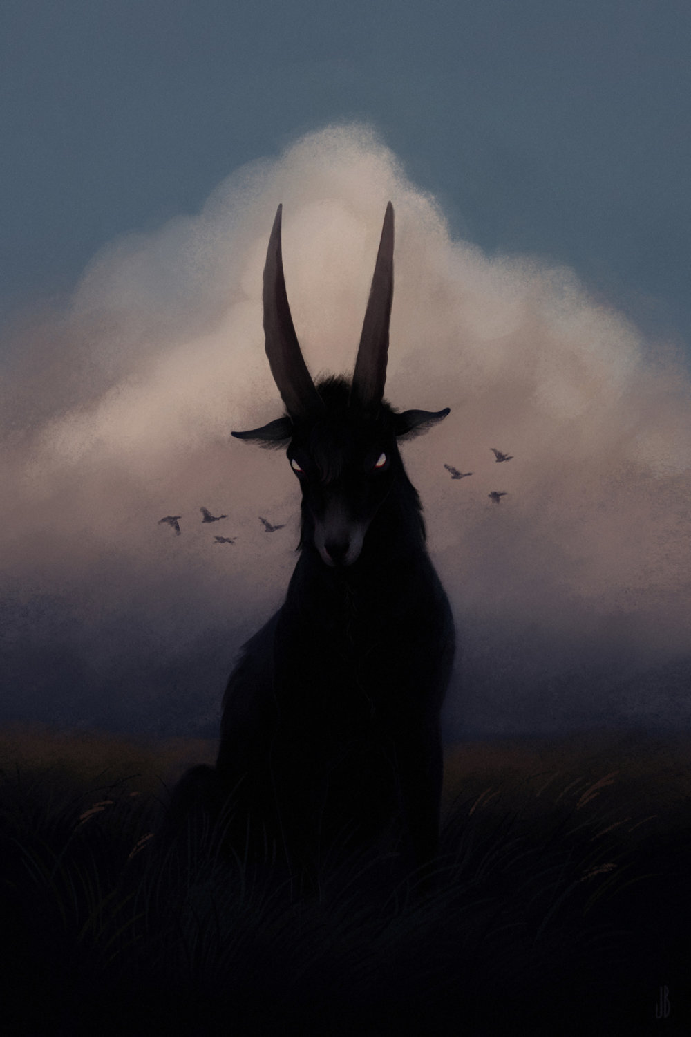 Mysterious And Shadowy Animal Illustrations By Jenna Barton 3
