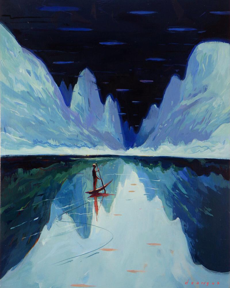 Mystic Worlds Surrealist Illustrations By Dean Stuart 1