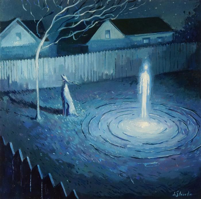 Mystic Worlds Surrealist Illustrations By Dean Stuart 2