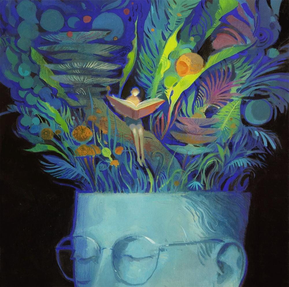 Mystic Worlds Surrealist Illustrations By Dean Stuart 5