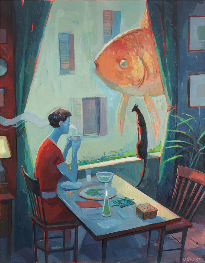Mystic Worlds Surrealist Illustrations By Dean Stuart 6