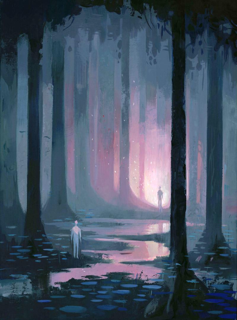 Mystic Worlds Surrealist Illustrations By Dean Stuart 8