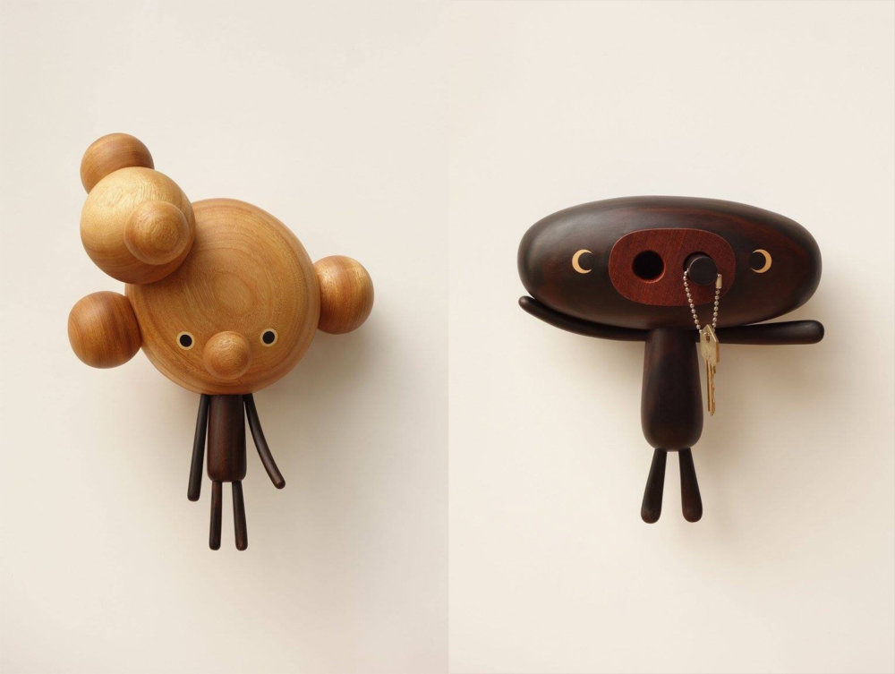Peculiar Creatures Amusing Cartoon Like Wood Toys And Vases By Yen Jui Lin 4