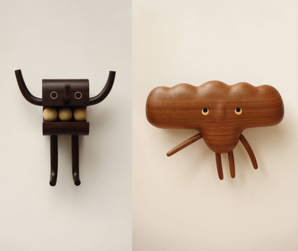 Peculiar Creatures Amusing Cartoon Like Wood Toys And Vases By Yen Jui Lin 7